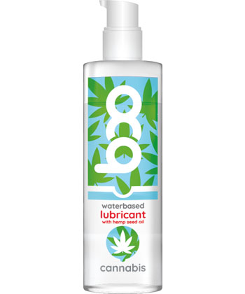 Boo Waterbased Lubricant Cannabis
