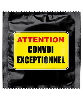 Callvin Attention Convoi Exceptionnel