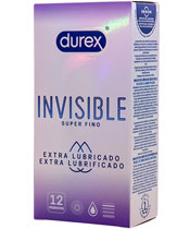Durex Hidden Extra Lubricated