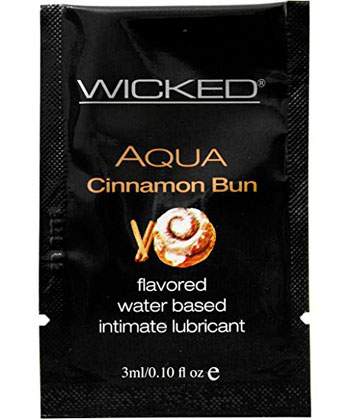 Wicked Flavored Cinnamon Bun