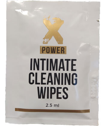 XPower Intimate Cleaning Wipes
