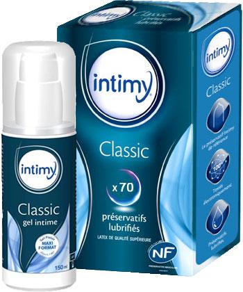 Intimy Classic + Gel Lubrifiant Intime
