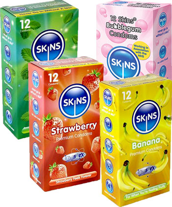 Skins Flavoured Maxi Pack