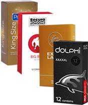 Condomz Pack XXL